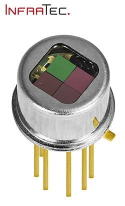 InfraTec Extend their Family of Miniaturised Multi-Channel Detectors by Benefits of Current Mode