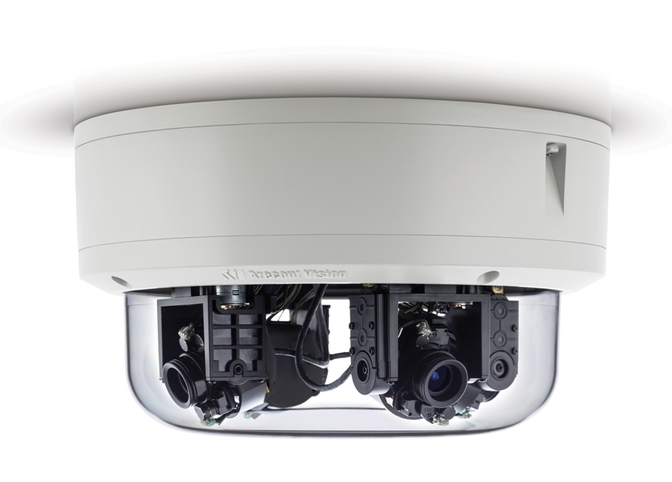 Arecont Vision Announces Immediate Availability of Multi-Sensor Omnidirectional Camera