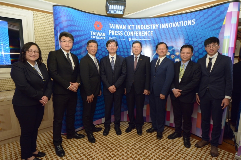 Taiwan's Top Innovators Exhibit Latest Breakthroughs in IoT, Smart Devices at CES 2018