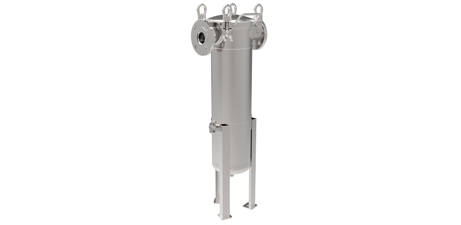 In-line Bag Filter System for Hazardous Applications