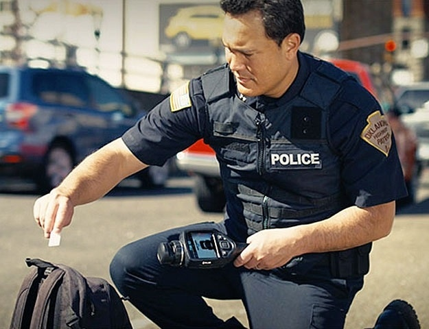 Trace Explosives Detection in Less Than 10 Seconds