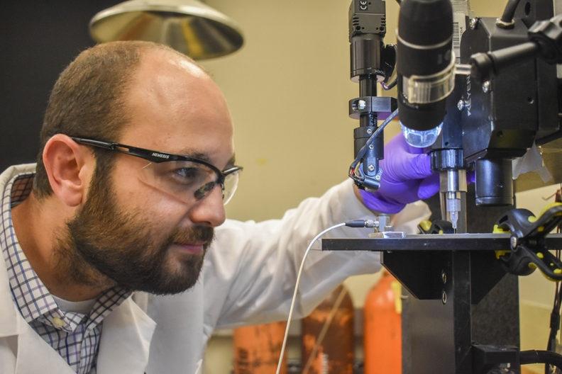 WSU Team Creates 3D-Printed Glucose Biosensors