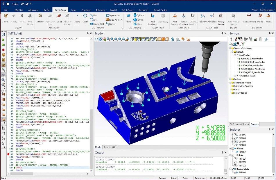 LK Metrology Announces Enhanced Multi-Sensor CMM Software