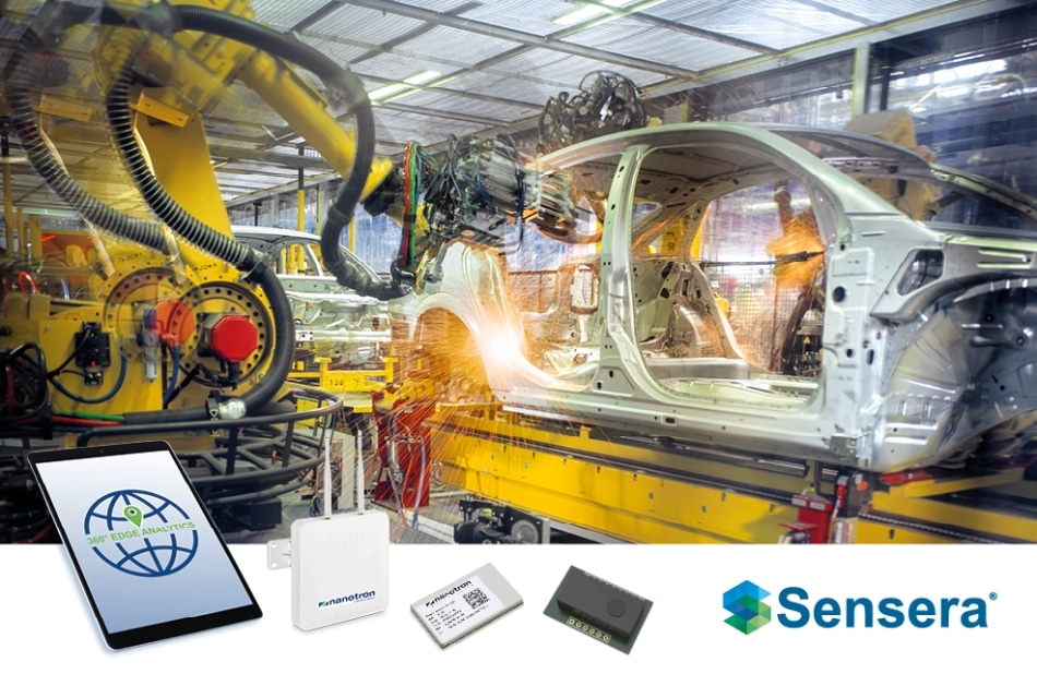 Sensera and Arrow Electronics Sign Global Agreement to Cooperate on Powerful IoT Sensor Solutions