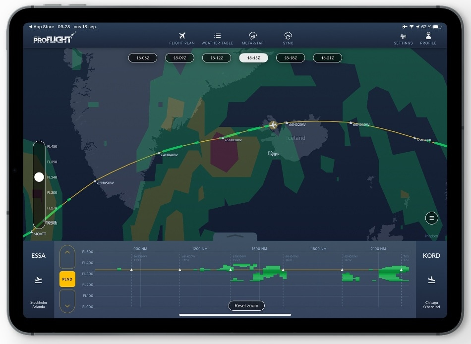 No Thunder in Sight - AVTECH Sweden's Proflight Helps Pilots Pick the Perfect Flight Path