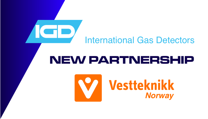 International Gas Detectors Secures New Partnership with Vestteknikk