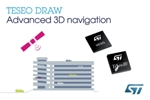 STMicroelectronics Launches Enhanced 3D Positioning on TESEO III Automotive-Navigation Ics