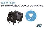 STMicroelectronics Drives Power-Module Miniaturization with High-Temperature Surface-Mount Silicon Controlled Rectifiers