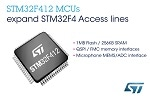 STMicroelectronics Enhances Access Lines of STM32F4 High-Performance Microcontroller Series, including New 125°C Devices