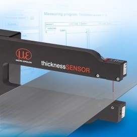 New Laser Thickness Measurement Sensor Is Compact, Has 10µm Accuracy and Costs Less than £10,000
