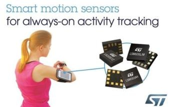 STMicroelectronics Helps Social-Fitness Fans Stay Motivated with Smart Motion Sensors