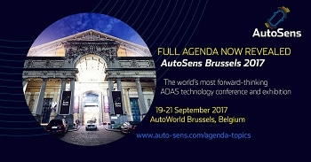 Autosens Returns to Autoworld in Brussels for the Third in Its Series of World-Class Events