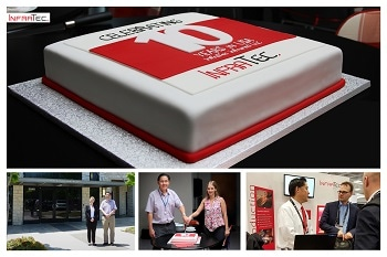 Venture with Happy End - USA Location of InfraTec Celebrates Its 10th Anniversary