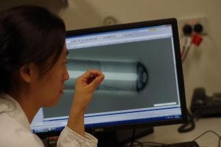Miniaturized Probe Can Take Images of Body & Record Body Temperatures
