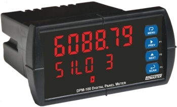 Bright-Eyed Digital Display for Modbus Level Sensors