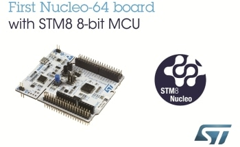 STM8 Nucleo Boards from STMicroelectronics Connect 8-bit Projects to Open-Source Hardware Resources