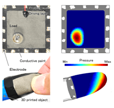 Researchers Develop Low-Cost Tactile Imaging Sensors to Measure Pressure Distribution