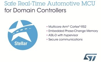 STMicroelectronics Introduces Safe, Real-Time Microcontrollers for Next-Generation Automotive Domain Architectures