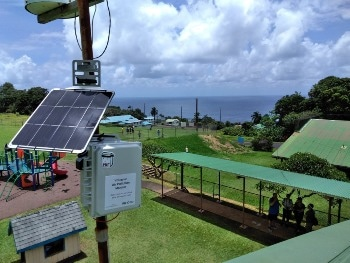 Innovative Sensor Network Monitors 'vog' in Hawai'i