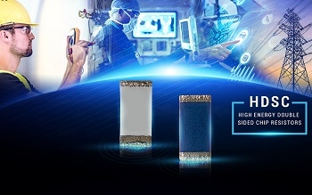 TT Electronics Launches First-of-its-Kind High Energy Double Sided Chip Resistor, for Maximum Surge Performance in a Compact Space