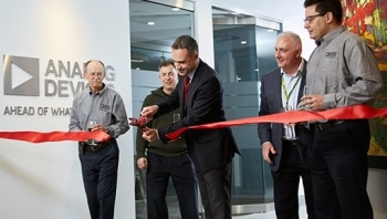 Analog Devices Opens State-of-the-Art R&D Facility in Ottawa, Canada, to Develop Highly Integrated Radio Technology for Wireless Customers