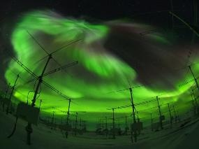 Largest Atmospheric Radar in the Antarctic Used to Measure Earth's Ionosphere