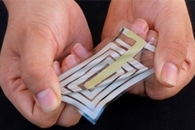 New Electronic Skin Sensor Captures Human Motion from a Distance