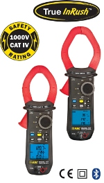 CAS DataLoggers Introduce AEMC Model 407 & 607 Clamp Meters For Measuring Voltage & Current