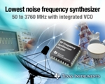 TI Introduces Wideband Frequency Synthesizer with Lowest Phase Noise