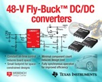 TI Launches New 48-V Synchronous Buck Regulators for Multi-Output Power Supplies