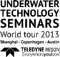 "World Tour 2013 - ""Underwater Technology Seminars"" - Launched by Teledyne RESON"