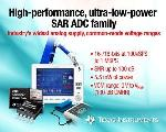 TI Expands SAR Analog-to-Digital Converter Product Portfolio