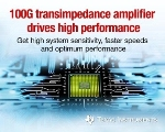 Texas Instruments Introduces Transimpedance Amplifier for 100G Optical Networking Market