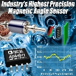 Analog Devices Introduces Magnetic Angle Sensor with High Precision, Speed and Resolution