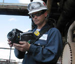FLIR GF320 Thermal Camera for Offshore Oil & Gas Leak Detection