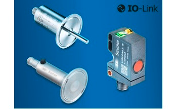 Dual Channel IO-Link Sensors Optimise Flexibility and Extend the Boundaries in Automation Applications
