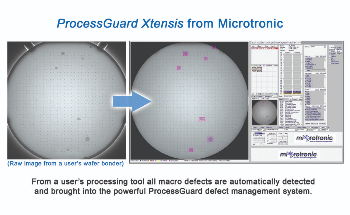 Microtronic Announces Real-time Macro Defect Monitoring – Within Semiconductor Processing Equipment