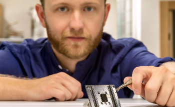 The World's Smallest Particle Sensor