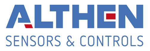 Althen Sensors & Controls logo.