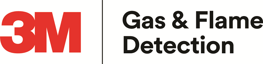 3M Gas & Flame Detection logo.