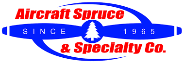 Aircraft Spruce & Specialty Co. logo.