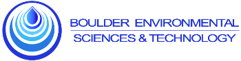 Boulder Environmental Sciences and Technology logo.