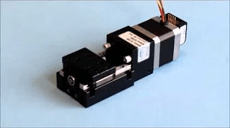 Miniature Linear Stage with Anti-Backlash Lead Screws