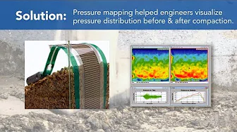 Video to Show Pressure Mapping Technology for Soil Compaction Evaluation